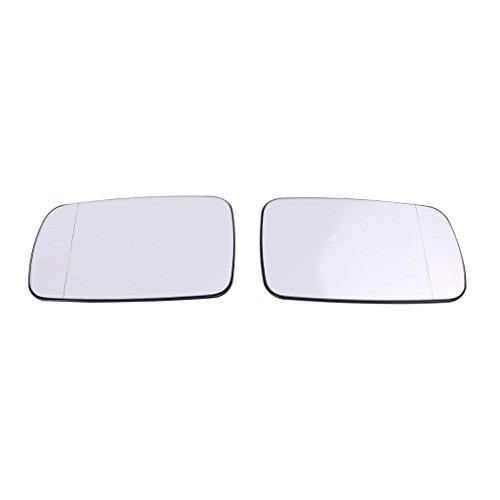 Preisvergleich Produktbild WANOOS Heizbar Seite Spiegel Außenspiegel Seitenspiegel Glas für BMW 5er E39 7er E38