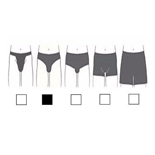 Herren Slips Farbig Uni Gestreift Baumwolle Unterhosen M L XL XXL 5 6 7 8 Bunt Retro Männer Jungen Unterwäsche 5-10er Spar Pack Sportslips von SGS 10er Pack