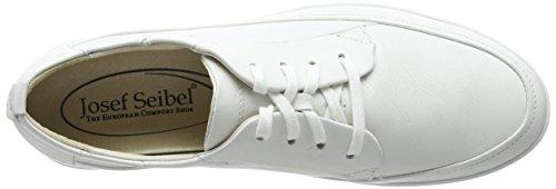 Josef Seibel Ciara 01, Baskets Basses femme Blanc - Blanc
