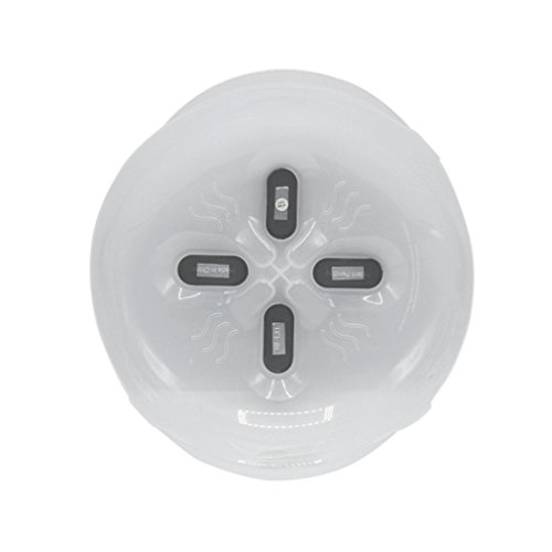 Speisen Spritzschutz Mikrowelle winbang Hover anti-sputtering Cover mit dampfablass