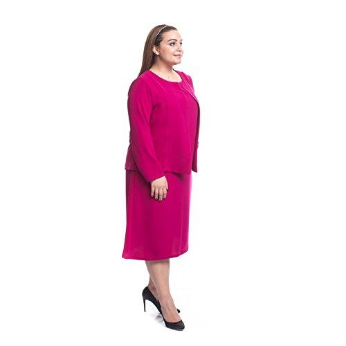 Designer Anzug zweiteiler 2 Teilig Kleid und Blazer Elegant auch ...