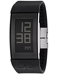 Philip Starck Philippe Starck - Reloj digital de cuarzo para mujer con correa de plástico