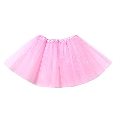 (Tütü Damen Tüllrock Mädchen Ballet Tutu Rock Kinder Petticoat Unterrock Ballett Kostüm Tüll Röcke Festliche Tütüs Erwachsene Pettiskirt Ballerina Petticoat Für Dirndl Hell Rosa Erwachsene)