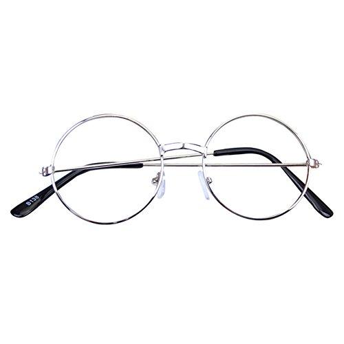 Mädchen Junge Runde Brille - Clear Lens Glasses Frame Geek / Nerd Brillen mit Car Shape Gläser...