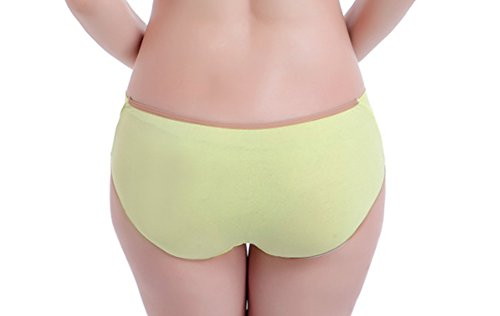 Qiaoyu Womens transpiration enceinte Maternit¨¦ Bikini Basse-taille culottes bretelles bleu