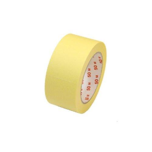 24 Rollen Malerkrepp Abklebeband - 50 mm x 50 m - Klebeband bis 60 °C hitzebeständig!