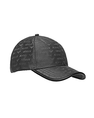 Armani Jeans Men's Baseball Cap Black