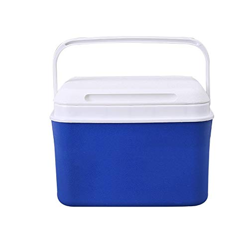 Ambiguity Kühlboxen,5L Kunststoffisolierung Box Outdoor-Grill tragbaren Kühlschrank
