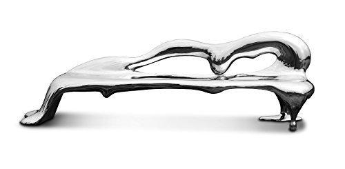 Edelstahl-Sofa aus Handarbeit (268cm)