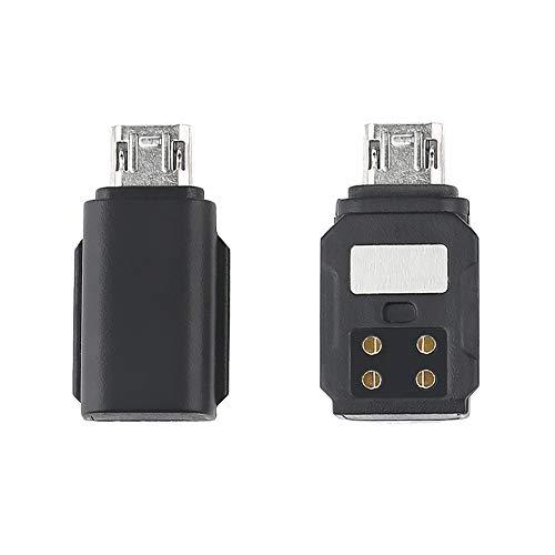 HSKB Telefonanschluss für DJI OSMO Pocket für Android Smartphone Adapter, USB-Adapter Micro-USB Stecker auf Typ-C Buchse Konverter Anschluss für Android Micro USB/Type-c Anschluss (Micro USB)