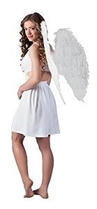 Boland 52802 - Alas de ángel (Aprox. 87 x 72 cm, Talla única), Color Blanco