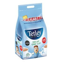 Tetley One Cup Decaffeinated Tea Bags Pack of 440