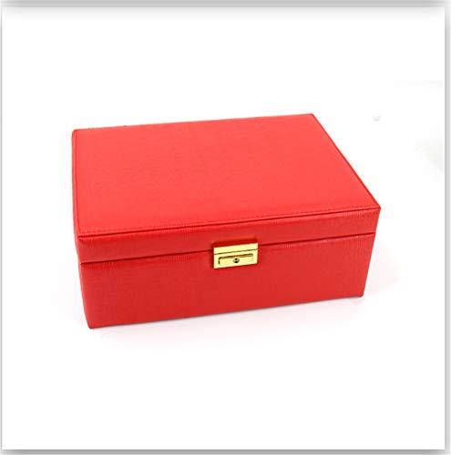 ZYC Leder Schmuck Aufbewahrungsbox Modeschmuck Display Organizer Ohrringe Ring Halskette Verpackung Box Schmuck Halter Geschenke