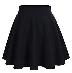DRESSTELLS Falda Mujer Mini Corto