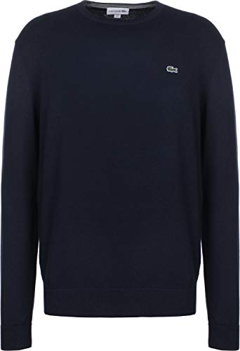 Lacoste Herren Pullover Ah7004, Blau Marine-Farine 6dp, X-Large (Herstellergröße: 6)