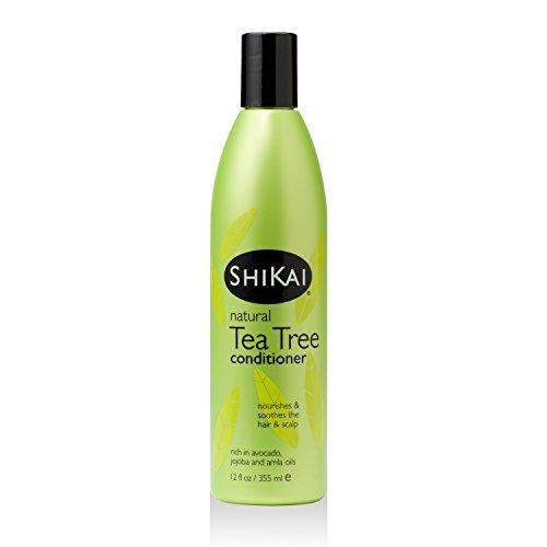 Tea Tree Conditioner, 12 fl oz (355 ml) - Shikai