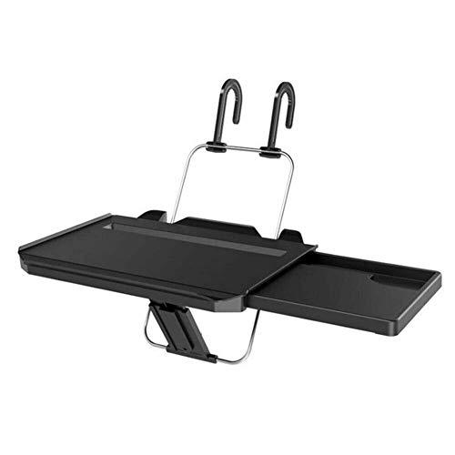 HXA Faltbare Auto-Rücksitz Laptop-Halter für Lenkrad Kopfstützenbefestigung Klapptisch für Auto an Rücksitz und Lenkrad (Rücksitz Laptophalter)
