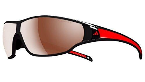 Adidas eyewear Evil Eye Evo Pro S, Couleur matt black/red