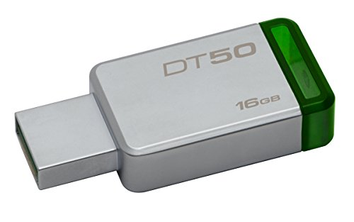 Kingston datatraveler 50 dt50 chiavetta usb 3.0, 16 gb