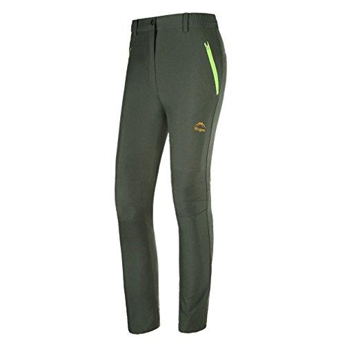 emansmoer Damen Sonnenschutz Anti-UV Leicht Hosen Quick Dry Atmungsaktiv Outdoor Sport Cam