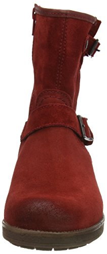 Marc Shoes Lydia Damen Biker Boots Rot (oxblood 670)