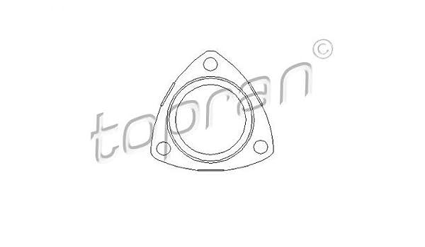 TOPRAN Dichtung f/ür Abgasrohr 206 192