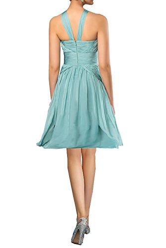 Gorgeous Bride Fashion Rabatte Empire Chiffon Lang Abendkleider Festkleider Ballkleider Hellgruen