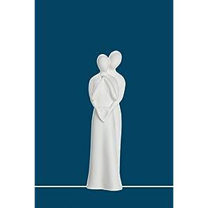 Gilde Sculpture Francis 'Untrennbar' braun