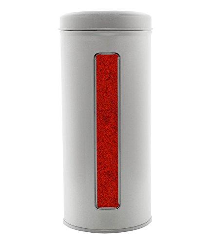 Paprika geräuchert, ungarischer Rauchpaprika mit mild - würzigem Buchenrauch. Gastro - Dose 400g.