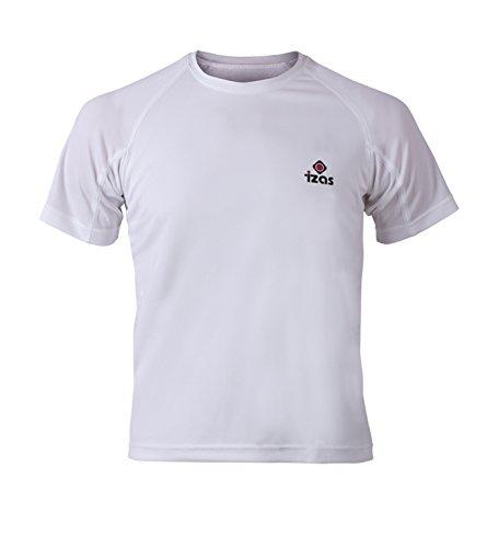Izas Creus - T-shirt sportiva da uomo bianco