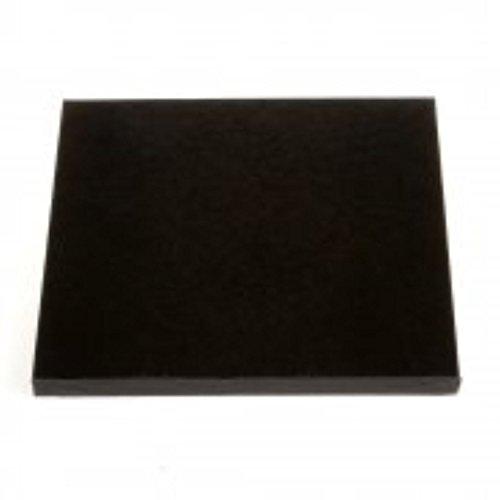 30,5 cm carré Noir pour gâteau (lot de 5)