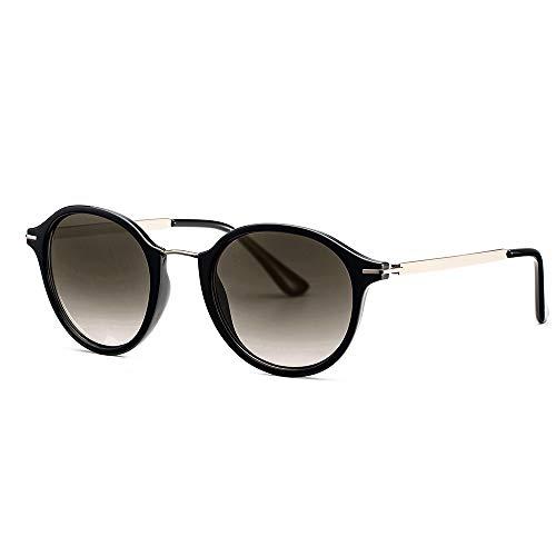 Avoalre Sonnenbrille Damen Retro Sunglasses, 2019 Trend Vintage Style Verlaufsglas Metallbügeln 100% UV400 Schutz (Retro 2)