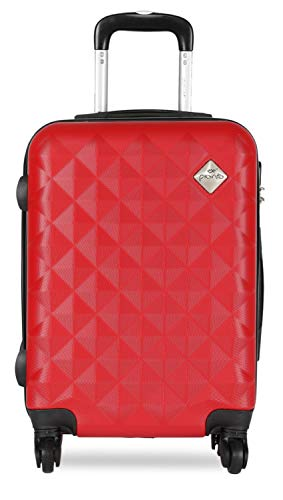 PRONTO Naples ABS 65 cms Red Hardsided Check-in Luggage (7808 - RD)