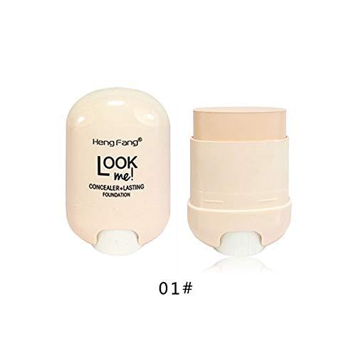 Fond de teint crème correcteur tache cachée éclaircissant bâton de crème de longue durée imperméable à l'eau