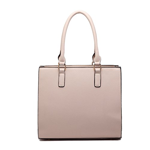 Miss Lulu , Damen Tote-Tasche beige 1650 Beige 1650 Beige