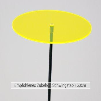 Sonnenfänger - Sun Dancer KREIS 150 gelb - wetterfest, lichtreflektierend - Acrylscheibe: Ø15cm - inkl. Kegelzapfen und Nylonschnur zum Hängen von Colours in Motion bei Du und dein Garten