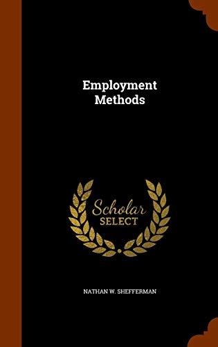 Employment Methods