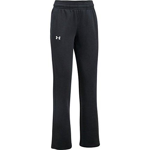 Under Armour Women's Hustle Fleece Pant (Small, Black) noir