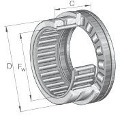 NKXR35-Z INA COMBINED ROLLER/BALL BEARING