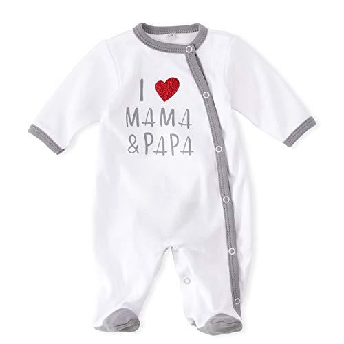 """Baby Sweets - Pijama para bebé con diseño de corazón y texto""""I Love"""