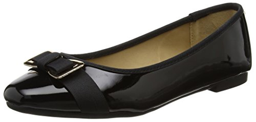 Head Over Heels Damen Honor Ballerina Schwarz (Schwarz)