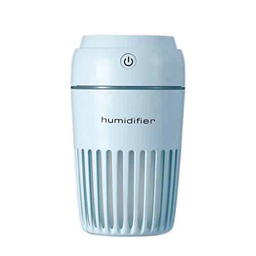 Humidificador USB cálida Noche de luz de la Casa del coche Purificador...