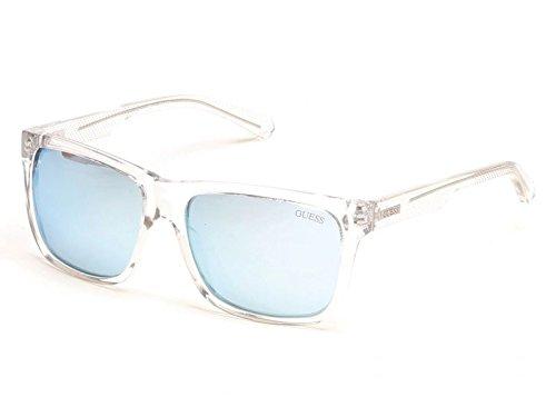Guess GU6838 C57 26X (crystal / blu mirror) Sonnenbrillen