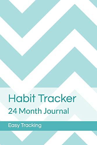 Habit Tracker: 24 Month Journal