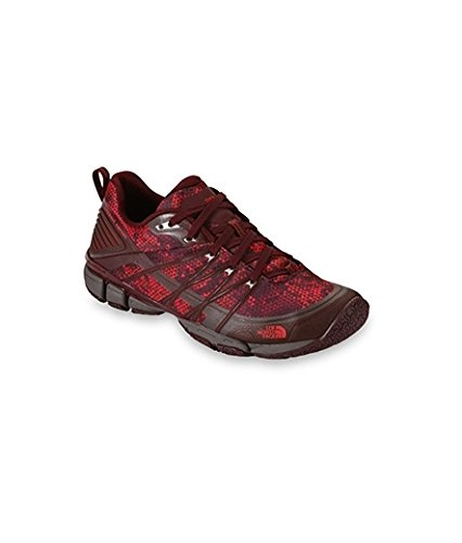 The North Face W Litewave Ampere, Scarpe Outdoor Multisport Donna Rosso (Dpgtrtrpypt/Mlr)