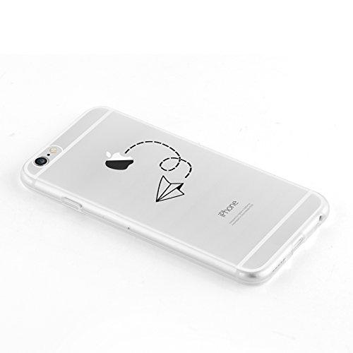 Cover Iphone 6 Jammylizard Sketch Custodia In Silicone