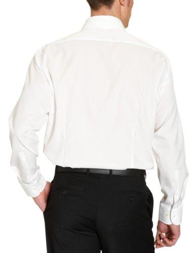 Jacques Britt- Chemise business - Col chemise classique - Manches longues - Homme Blanc (02 - creme)