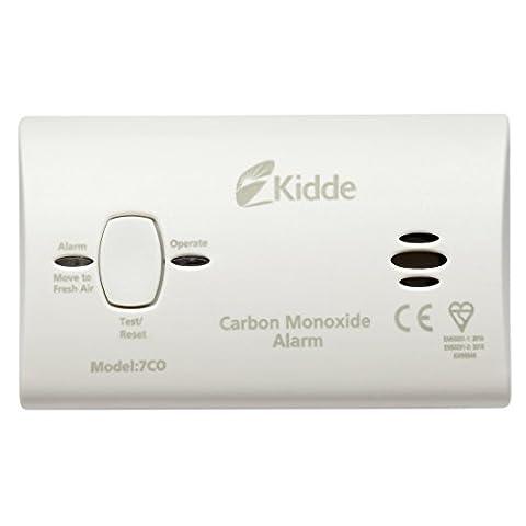 Kidde 7COC Carbon Monoxide Alarm (replaceable batteries) 10 Year Sensor and Warranty