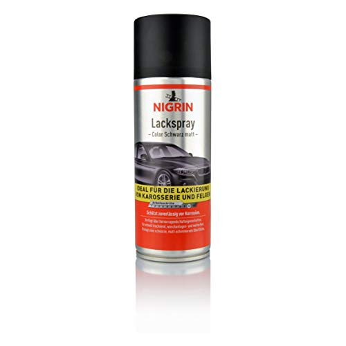 NIGRIN 74112 Lackspray schwarz matt 400 ml - 2