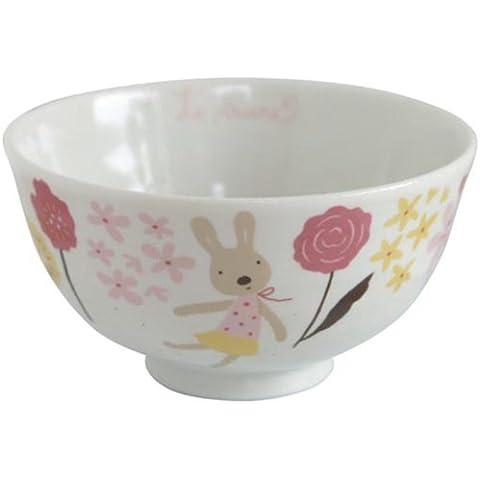 le Sucre (Le Shukuru) series platos japoneses taz?n de arroz de color rosa 22773 (Jap?n importaci?n / El paquete y el manual est?n escritos en